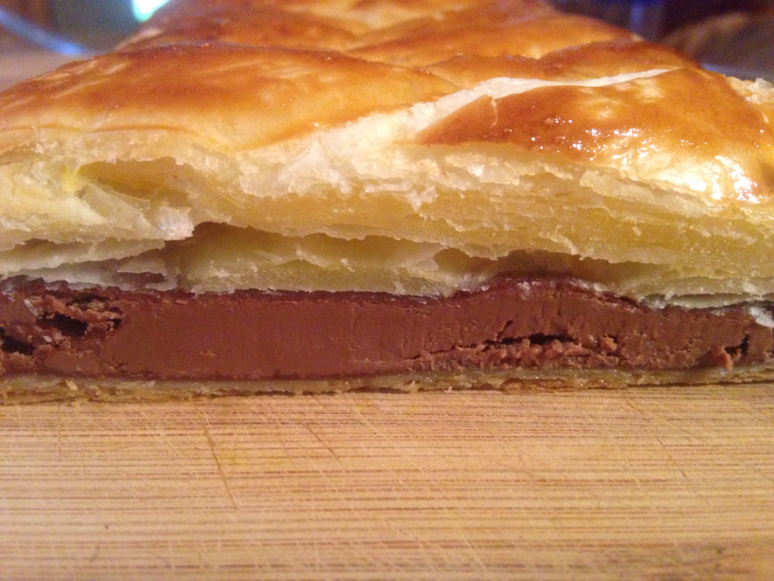 Chocolate pastry